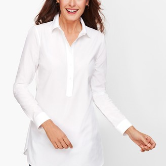 Talbots Perfect Shirt - Popover Tunic - Solid