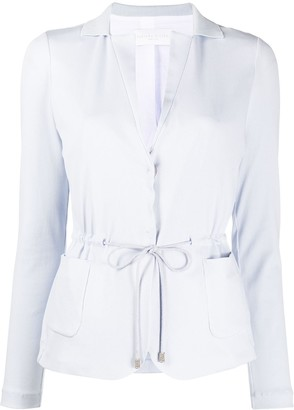 Fabiana Filippi Tailored Drawstring Waist Cardigan