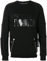 Philipp Plein piped trim sweatshirt