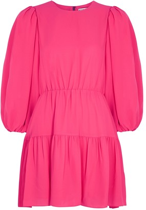Alice + Olivia Shayla hot pink mini dress