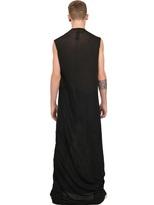 Rick Owens Cotton Jersey Extra Long T-Shirt