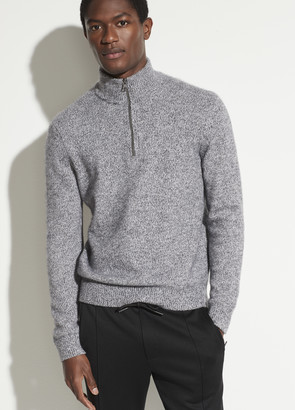Vince Quarter Zip Long Sleeve Sweater