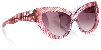Charlotte Olympia Linda Farrow For Feather sunglasses