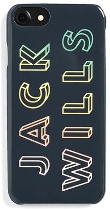 Jack Wills Flint Multi Graphic Iphone Case 6/6s/7/8