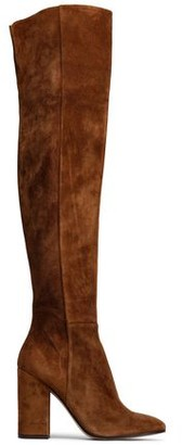 Gianvito Rossi Rolling High Suede Over-the-knee Boots