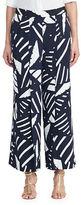 Lauren Ralph Lauren Printed Wide-Legged Pants