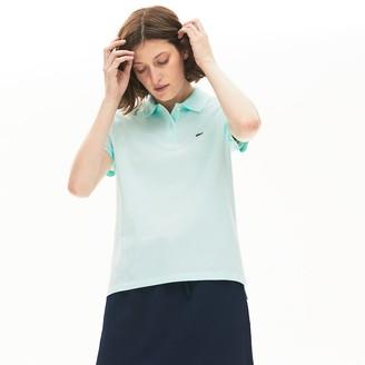 Lacoste Women's Classic Fit Soft Cotton Petit Pique Polo