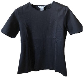 Brooks Brothers Black Cotton Top for Women