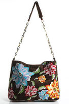 Santi MultiColor Embellished Embroidered Floral Chain Strap Shoulder Bag Medium