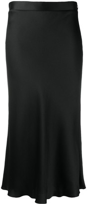 Blumarine Mid-Waist Straight Skirt