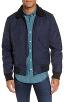 Bonobos Men's Faux Shearling Trim Bomber Jacket