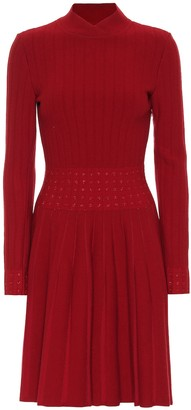 Alaia Ribbed-jersey dress