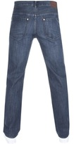 BOSS GREEN C Kansas Comfort Fit Jeans Blue