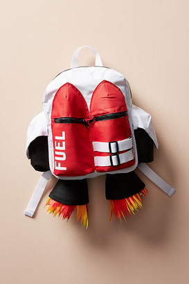 Anthropologie Spaceship Backpack By in White Size ALL