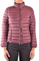 Invicta Women's Burgundy Polyamide Down Jacket.