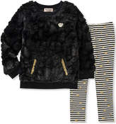 Juicy Couture Black Pocket Sweatshirt & Leggings - Infant, Toddler & Girls