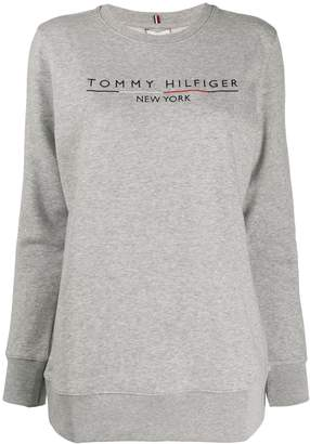 Tommy Hilfiger stripe sleeve sweatshirt