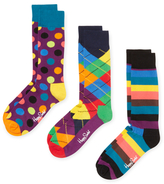 Happy Socks Argyle & Dots Socks (3 PK)