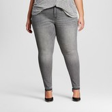 Ava & Viv Women's Plus Size Jegging Gray