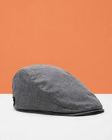 Textured Flat Cap