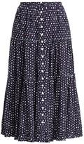 Marc Jacobs The Polka Dot Midi Prairie Skirt