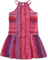 Calvin Klein Drop Waist Halter Dress, Big Girls (7-16)