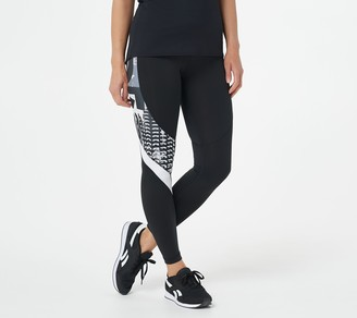 Reebok Workout Ready Meet You There All Over Printed Tight