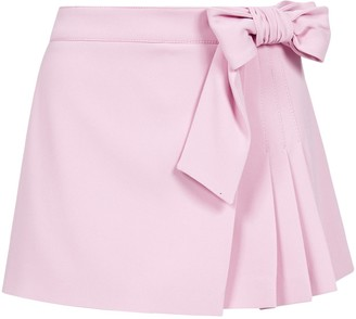 RED Valentino Bow Pleated Skorts
