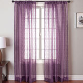JCPenney SOFTLINE HOME FASHIONS Palmetto Square Rod-Pocket Sheer Panel