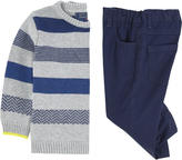 Mayoral Striped sweater and pants