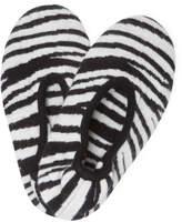 Portolano Cashmere Zebra Slippers
