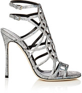 Sergio Rossi Women's Puzzle Leather Sandals