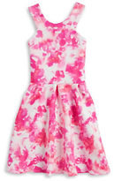 Sally Miller Girls 7-16 Girls Pleated Fit-and-Flare Dress
