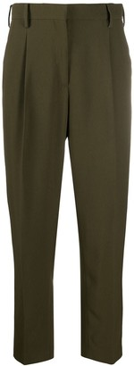 No.21 Tapered-Leg Tailored Trousers