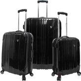 Traveler's Choice Sedona 3-Piece Expandable Spinner Luggage Set