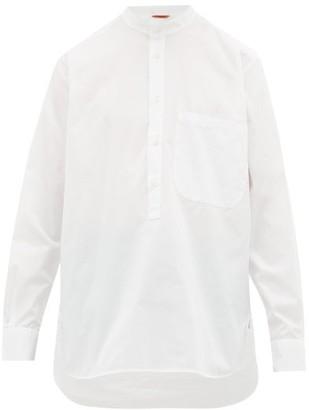 Barena Venezia - Ciospa Band-collar Cotton-poplin Shirt - Mens - White