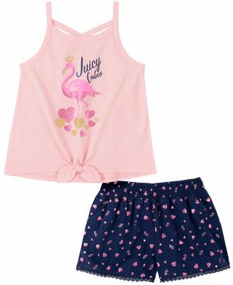 Juicy Couture Girls' 80I02027-99 Shorts Set