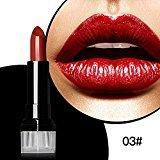 Matte Lipstick, BOYON Magical Halo Waterproof Long Lasting Lip Gloss Womens Cosmetic Makeup Liquid