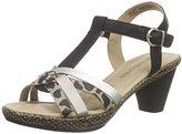 Remonte Dorndorf Women's d1053 Open Toe Sandals Multicolour Size: 8