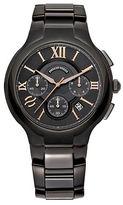 Philip Stein Teslar Mens Round Chronograph Watch