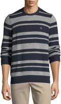 Original Penguin Striped Wool Pullover Sweater