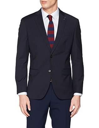 S'Oliver BLACK LABEL Men's 02.899.54.4473 Suit Jacket, (Blue Pink Stripe 59j1), (Size: 50)