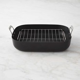 Williams-Sonoma Williams Sonoma Professional Stainless-Steel Nonstick Roaster with Rack