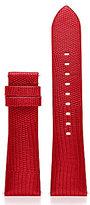 Michael Kors Access Bradshaw Lizard-Embossed Leather Strap