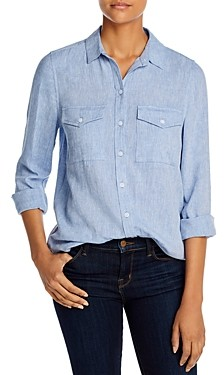 BeachLunchLounge Kallie Button-Front Shirt