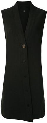 OSKLEN Buttoned Vest Dress