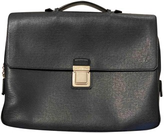 Louis Vuitton Robusto Navy Leather Bags