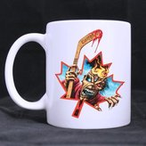 Custom Mugs Iron Maiden Band Custom Design Coffee Mugs Beer Mug Ceramic Water Cups Office Home Cup 11 OZ Two Sides Printed