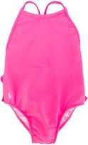 Ralph Lauren ruffled swimsuit - kids - Nylon/Spandex/Elastane/polyester - 9 mth
