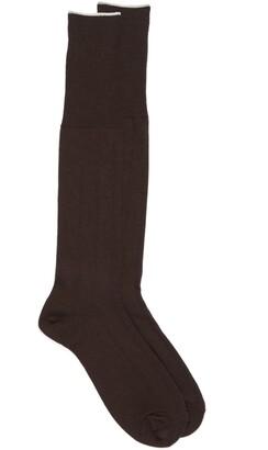 Nordstrom Over the Calf Wool Dress Socks